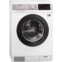 AEG L99695HWD KOKombi Plus Heat Pump Washer Dryer, 9kg Wash/6kg Dry Load, A Energy Rating, 1600rpm Spin, White