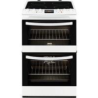 Zanussi ZCV48300WA Electric Cooker, White