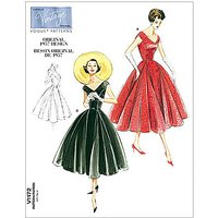 Vogue Womens Dress Sewing Pattern, 1172