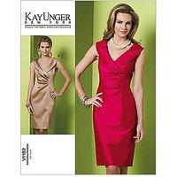 Vogue Kay Unger Womens Dress Sewing Pattern, 1182