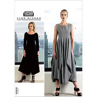 Vogue Mizono Womens Dresses Sewing Pattern, 1312