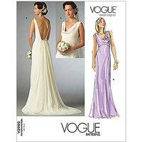 Vogue Womens Bridal Original Dresses Sewing Pattern, 2965