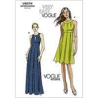Vogue Womens Dresses Sewing Pattern, 8574