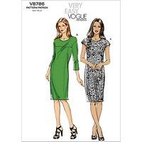 Vogue Womens Dresses Sewing Pattern, 8786