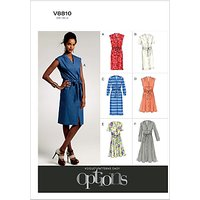 Vogue Womens Dresses Sewing Pattern, 8810