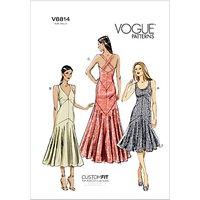 Vogue Womens Dresses Sewing Pattern, 8814