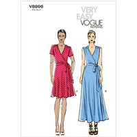 Vogue Womens Dresses Sewing Pattern, 8896