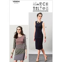 Vogue Marcy Tilton Womens Dresses Sewing Pattern, 8904