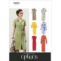 Vogue Womens Dresses Sewing Pattern, 8903