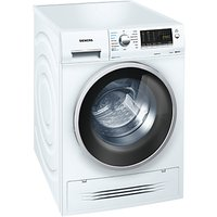 Siemens WD14H421GB Washer Dryer, 7kg Wash/4kg Dry Load, A Energy Rating, 1400rpm Spin, White
