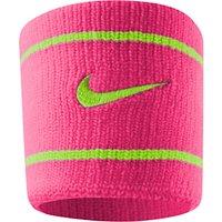 Nike Dri-FIT Wristband, Pink/Green
