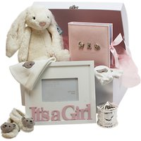 John Lewis It's A Girl Large Baby Hamper, Pink