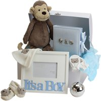John Lewis It's A Boy Large Baby Hamper, Blue