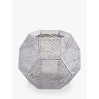 Tom Dixon Etch Tealight Holder, Silver