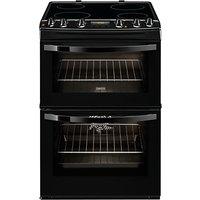 Zanussi ZCV68300BA Electric Cooker, Black