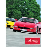 Red Letter Days Lamborghini Versus Ferrari Driving Thrill