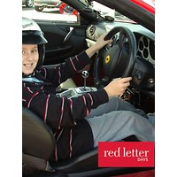 Red Letter Days Kids Ferrari Driving Experience