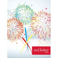 Red Letter Days Congratulations 50 Gift Card
