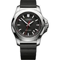 Victorinox Mens I.N.O.X Rubber Strap Watch