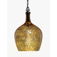 John Lewis Tallulah Copper Pendant Light, Mercury
