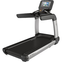 Life Fitness Platinum Club Series Treadmill with Discover SI Tablet Console