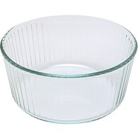 Pyrex Glass Round Souffle Oven Dish, 21cm