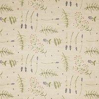 John Lewis Herb Garden PVC Tablecloth Fabric, Green