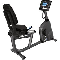 Life Fitness RS1 Lifecycle Recumbent Exercise Bike, Go Console