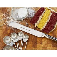 Cutlery Commission Silver-Plated Personalised Cake Knife