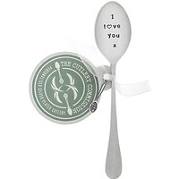 Cutlery Commission Silver-Plated I Love You Teaspoon