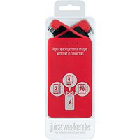 Juice Weekender Portable Power Bank for Smartphones & Tablets