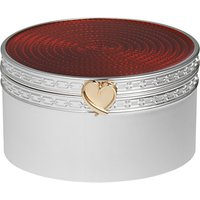 Vera Wang Silver Plated Treasures Box
