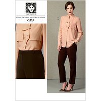 Vogue Anne Klein Womens Top and Trousers Sewing Pattern, 1414