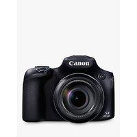 Canon PowerShot SX60 HS Bridge Camera, HD 1080p, 16.1MP, 65x Optical Zoom, 3 LCD Screen, Black