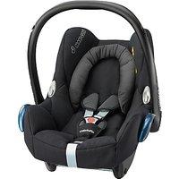Maxi-Cosi CabrioFix Group 0+ Baby Car Seat, Black Raven