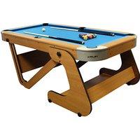 BCE Riley 6 Foot 6 Inch Folding Pool Table