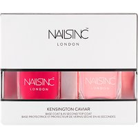 Nails Inc Kensington Caviar Top & Base Coat Duo