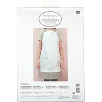 Rico Cherry Blossom Apron Embroidery Kit