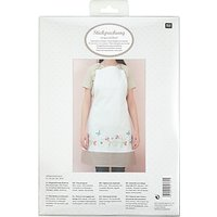 Rico Fantasy Flower Apron Embroidery Kit