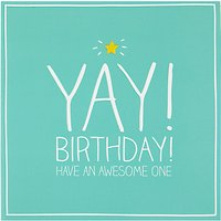Happy Jackson Yay! Birthday Card