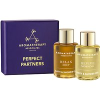 Aromatherapy Associates Perfect Partners Bath and Shower Oils, 2 x 7.5ml