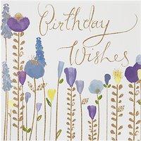 Woodmansterne Flowers Birthday Card