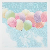Woodmansterne Vintage Balloons Birthday Card