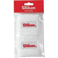 Wilson Tennis Wristband, Pack of 2, White