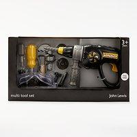 John Lewis Toy Multi Tool Drill Set