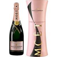 Moët & Chandon Rosé NV Champagne in Unfurl Tie Gift Box, 70cl