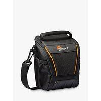 Lowepro Adventura SH 100 II Camera Shoulder Bag for Bridge, CSC and Action Video Cameras, Black