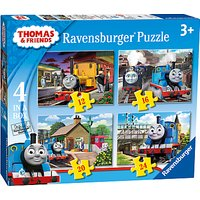 Ravensburger Thomas & Friends Jigsaw Puzzles, Box of 4