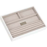 Stackers Jewellery 4-section Tray, White