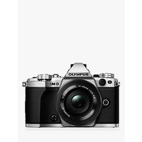 Olympus OM-D E-M5 Mark II Compact System Camera, HD 1080p, 16MP, Wi-Fi, 3 LCD Touch Screen with M.ZUIKO DIGITAL 14-42mm EZ Lens